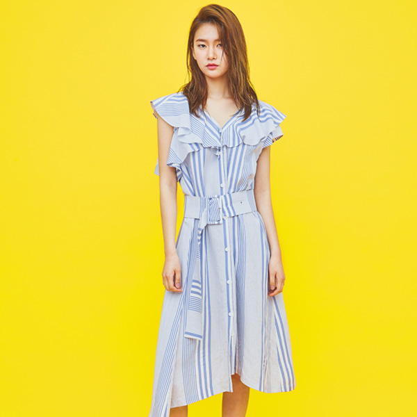 (OP-3382)메이 린넨셔츠 드레스