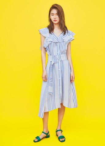 메이 린넨셔츠 드레스