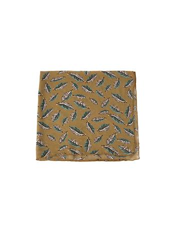 메이플 패턴 스카프