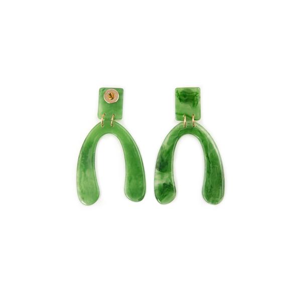 (E-1173)세미 후프 귀걸이