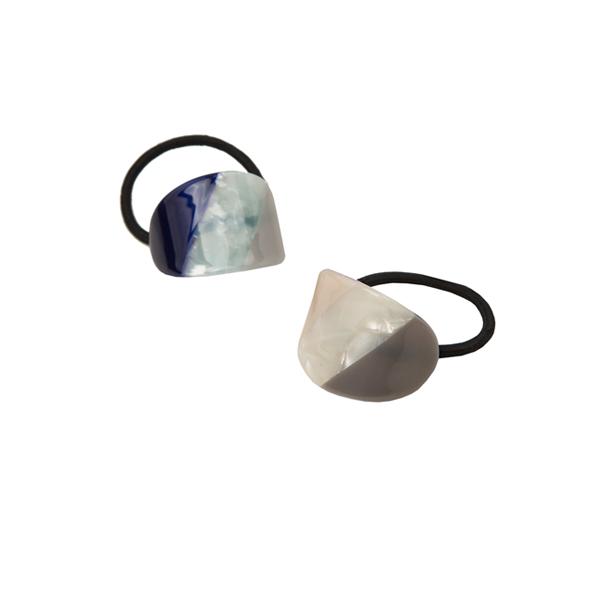 (ETC-2353)자개 라운드 헤어 끈