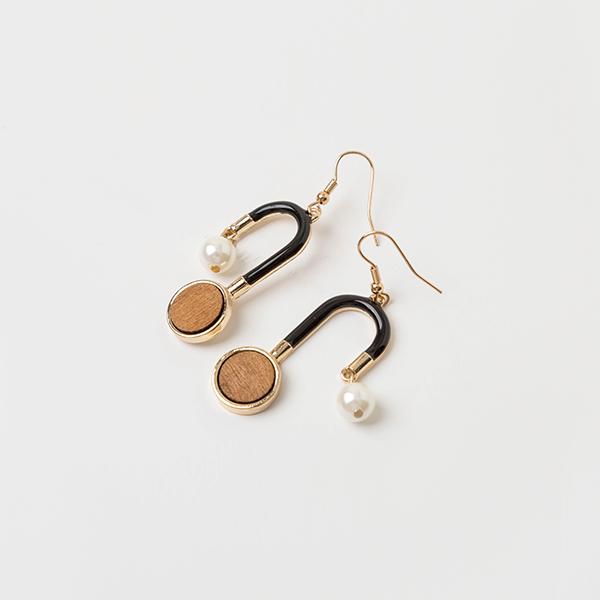 (E-1190)언발란스 드롭 귀걸이