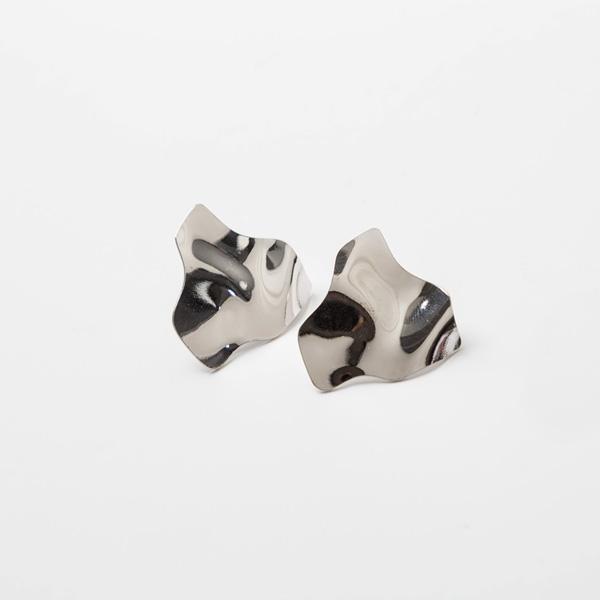 (E-1222)웨이브 모티브 귀걸이