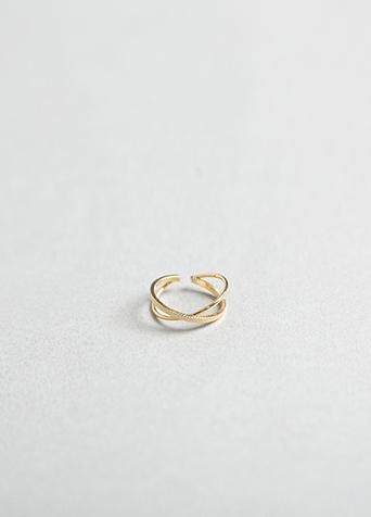 페미닌 크로스 반지