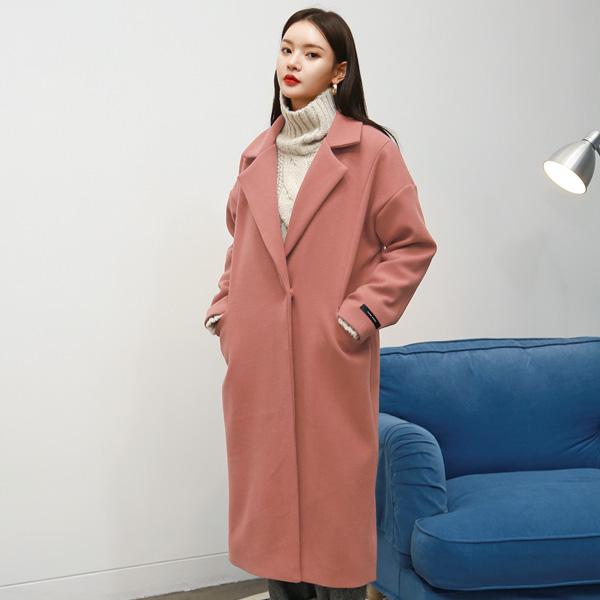 (CT-1121)포켓 컬러 코트