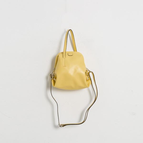 (B-1947)컬러 유니크 쉐입 투웨이 백