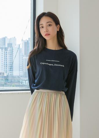 타이핑 투 라인 레터링 티