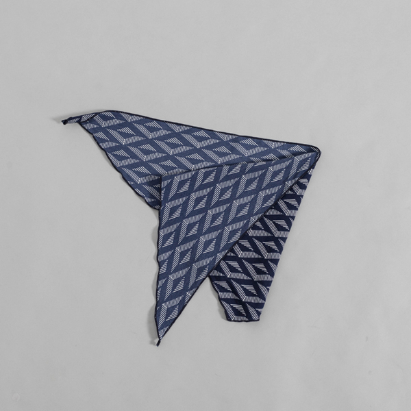 (ETC-2521)모던 패턴 포인티드 스카프